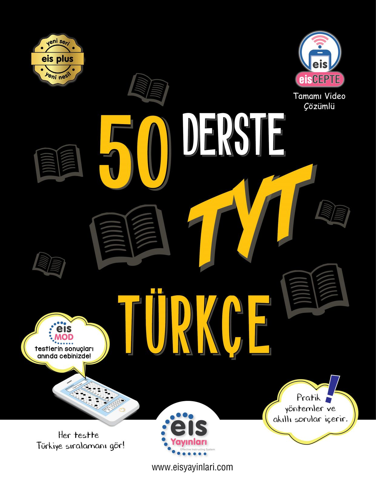 Bry - Birey Eğitim Yayınları YKS  50 Derste TYT  Türkçe