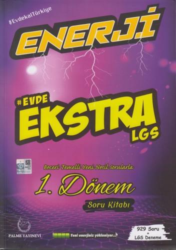 Enerji Evde Ekstra LGS 1. Dönem Soru Kitabı