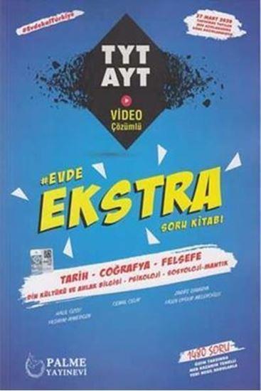 Palme Yayınları TYT AYT Tarih Coğrafya Felsefe Evde Ekstra Soru Kitabı