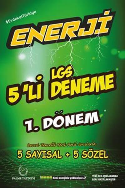 Enerji LGS 1. Dönem 5'li Deneme