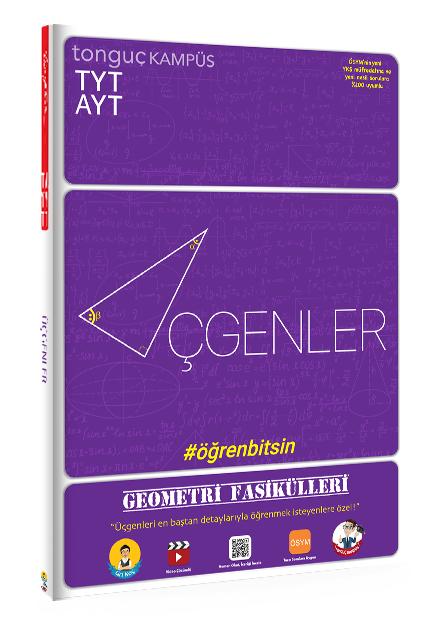 Tonguç Akademi TYT AYT Geometri Fasikülleri Üçgenler