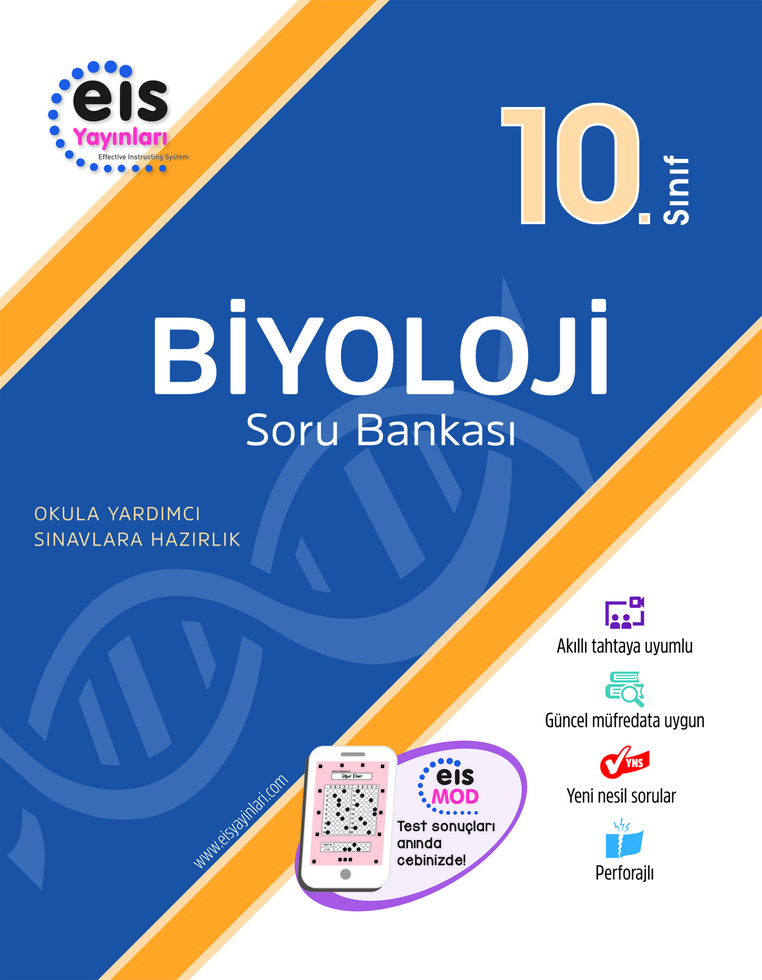 EİS 10.SINIF BİYOLOJİ SORU BANKASI