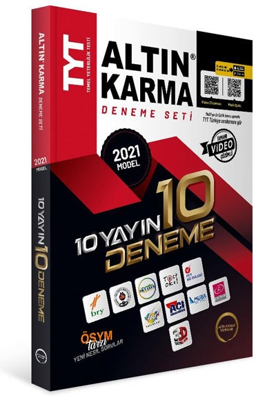 ALTIN KARMA TYT 10 DENEME 2021