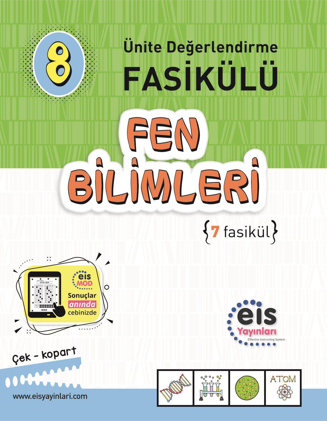 EIS - 8.Sınıf - Fen Bilimleri - Ünit. Değ. Fas.ü (1 - 7)