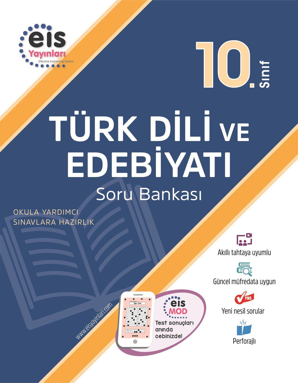 EIS - 10.Sınıf - Türk Dili Ve Edebiyatı - SB