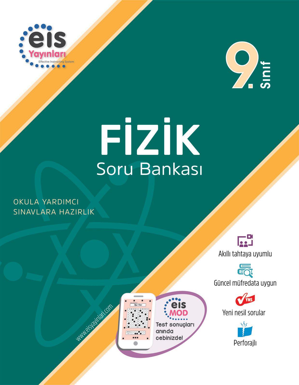 Bry - Birey Eğitim Yayınları 9.Sınıf  Soru Bankası  Fizik
