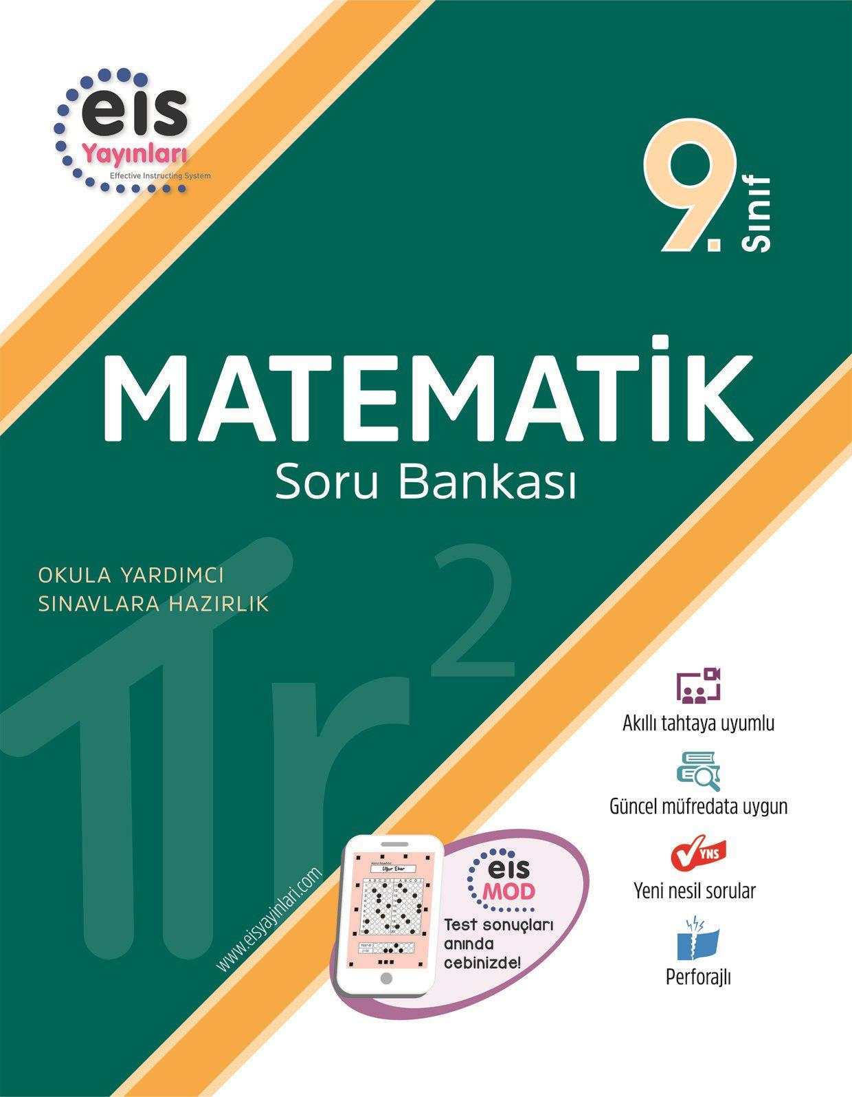 Bry - Birey Eğitim Yayınları 9.Sınıf  Soru Bankası  Matematik