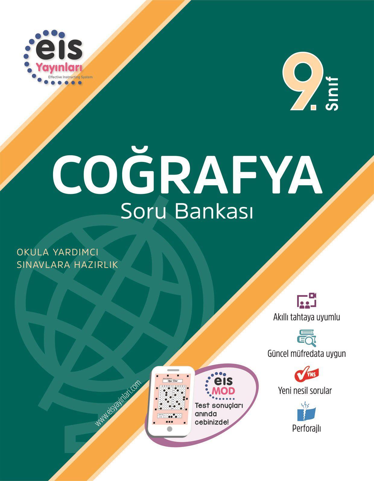 Bry - Birey Eğitim Yayınları 9.Sınıf  Soru Bankası  Coğrafya