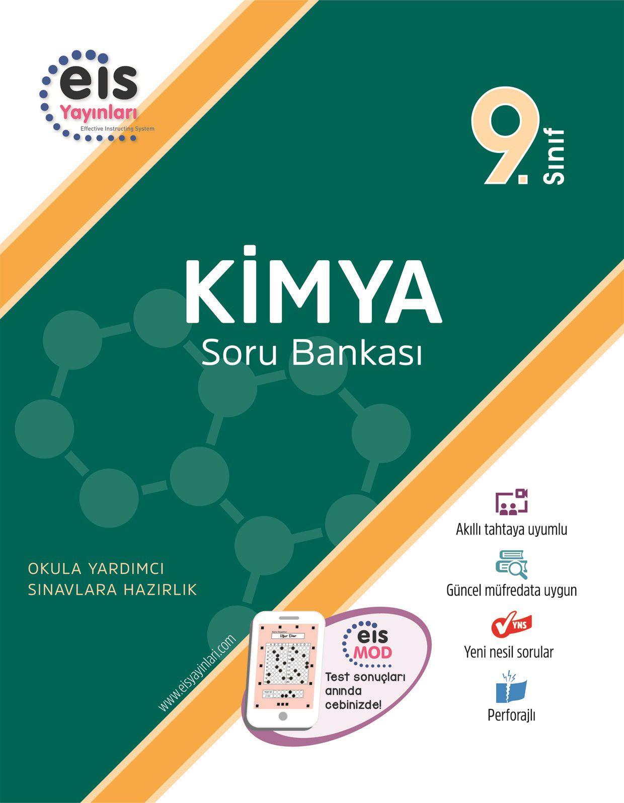Bry - Birey Eğitim Yayınları 9.Sınıf  Soru Bankası  Kimya
