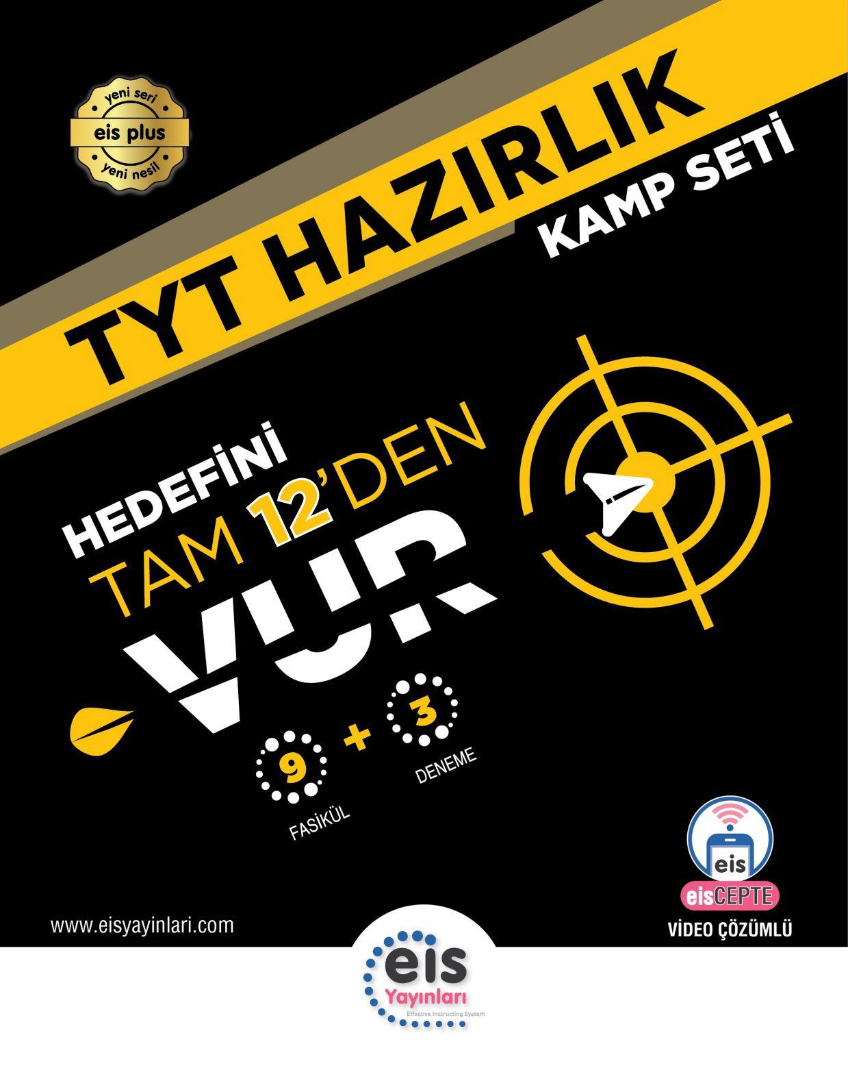 Bry - Birey Eğitim Yayınları TYT  Kamp Kitabı  9 Fasikül + 3 TYT Denemesi