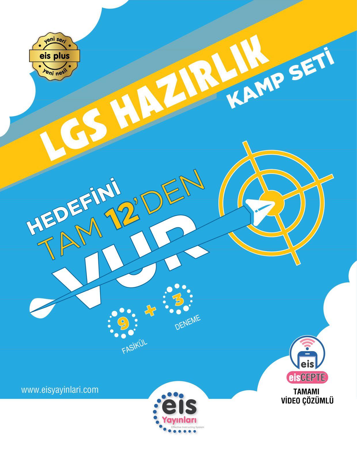 Bry - Birey Eğitim Yayınları LGS  Kamp Kitabı  9 Fasikül + 3 LGS Denemesi