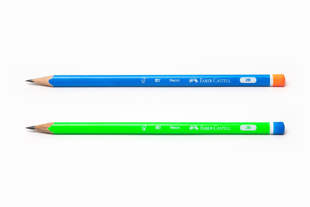 Faber-Castell Neon Mercanlı KK 2B Üçgen