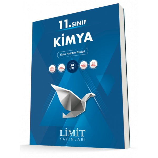 Limit SAY 11.Sınıf Kimya Konu Bitirme Kitabı